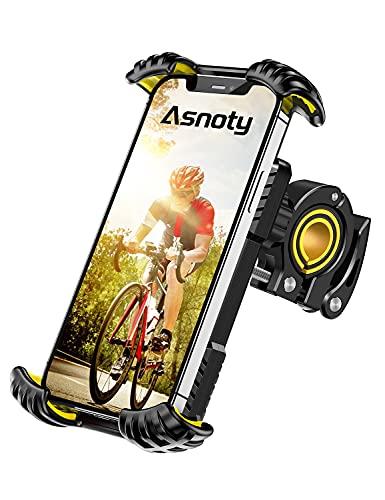 Asnoty Soporte Movil Bicicleta, Soporte Movil Bici Moto Rotación 360°, Soporte Teléfono Bicicleta...*