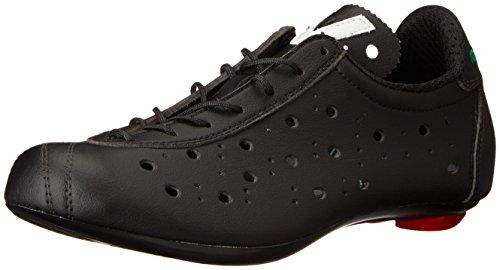 Vittoria 1976 Classic Look, Zapatillas de Ciclismo Hombre, Negro, 42.5 EU*