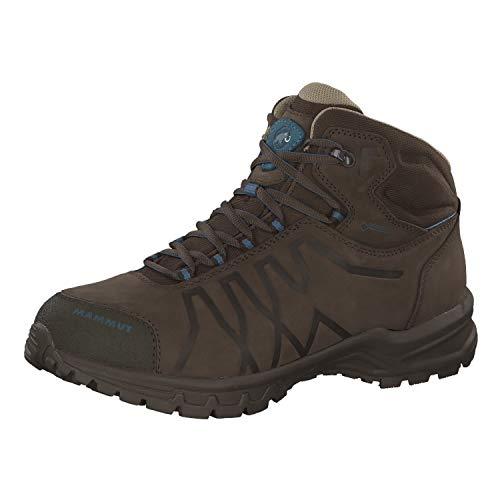 Mammut Mercury III Mid GTX, Zapatos de High Rise Senderismo Hombre, Gris (Bark-Dark Cloud 00131), 40 2/3 EU
