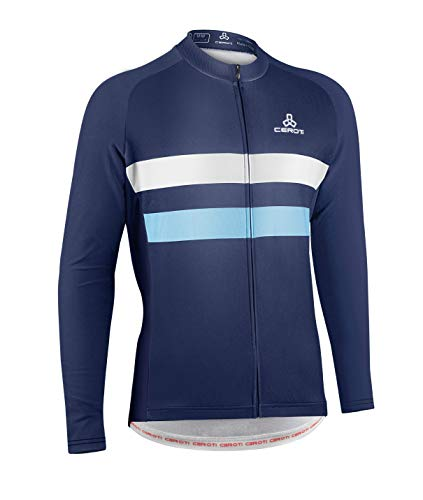 CEROTIPOLAR Camiseta térmica de manga larga para hombre, camiseta de ciclismo, sudadera con capucha...*