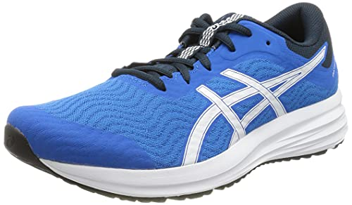 Asics Patriot 12, Zapatillas para Correr Hombre, Electric Blue/White, 45 EU