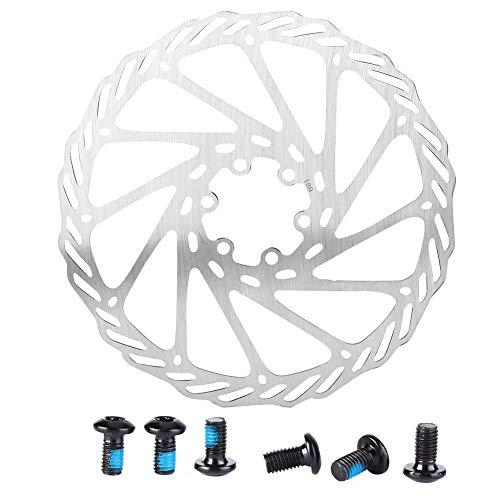 Discos de freno de bicicleta Rotor de freno de disco Bicicleta de montaña Disco de freno de acero...*
