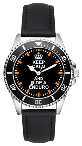 Regalo para Enduro Biker Moto Fans Fahrer Kiesenberg Reloj L-2117*