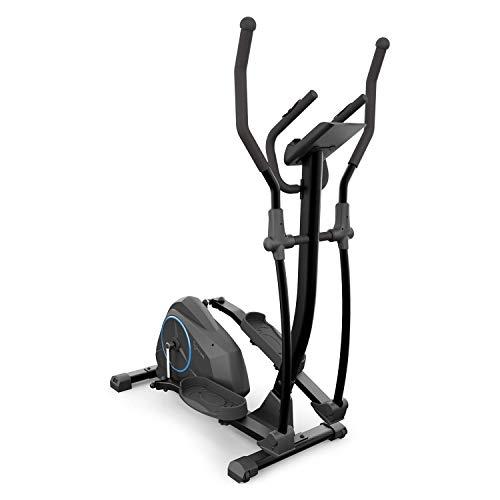 CapitalSports Helix Air - Bicicleta elíptica, Volante de inercia 12kg, 24 Niveles, Correa de...*
