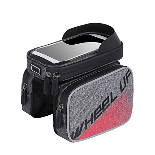 6.0 Inch Waterproof Touch Screen Bike Bag Top Tube MTB Cycling Riding Frame Front Head Bags Cell...*