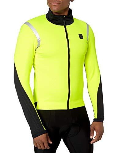 Craft Hale Subz Reflecitve - Chaqueta de ciclismo para hombre, resistente al viento, cálida,...*