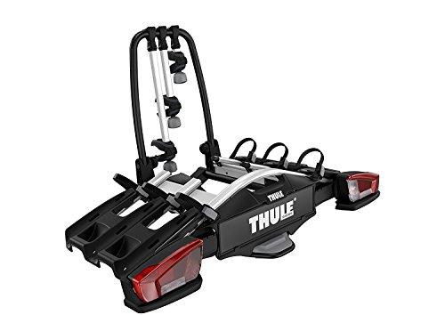 Thule VeloCompact 3 13-pin, Portabicicletas compacto y ligero para uso diario (para 3-4 bicicletas).