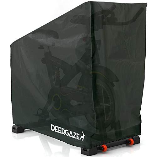 DEERGAZE Funda para Bicicleta Estática o de Spinning para Interior y Exterior. Cubierta Impermeable...*