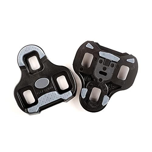 LOOK Cycle - Calas de Ciclismo Delta con Función de Posicionador de Memoria - Compatible con Pedales Estándar LOOK Pedales no KEO - Peso y Tamaño Reducido - 0° Libertad Angular - Color Negro