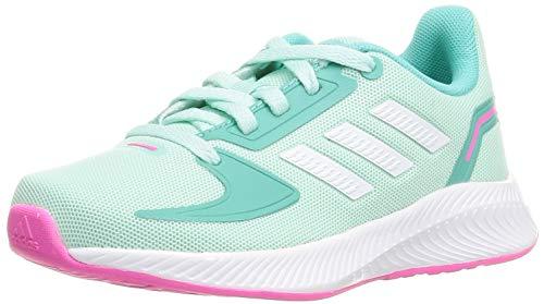 adidas RUNFALCON 2.0 K, Zapatillas de Running, MENCLA/FTWBLA/MENACI, 40 EU