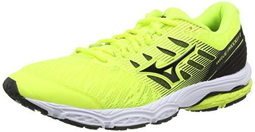 Mizuno Wave Prodigy 2, Zapatillas de Running Hombre, Amarillo (Safety Yellow/Black 09), 44.5 EU