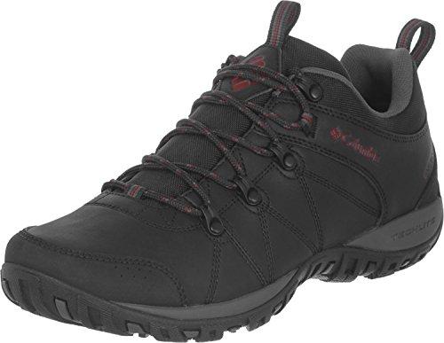 Columbia Peakfreak Venture Waterproof, Zapatos Impermeables Hombre, Black/Gypsy, 41.5 EU