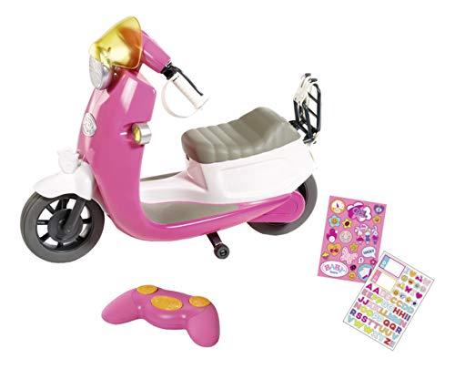 Baby Born City Moto Teledirigida para Muñecas de 43 cm, Para Manos Pequeñas, Promueve la Empatía y las Habilidades Sociales, Edad 3+, Incluye Control Remoto y Pegatinas