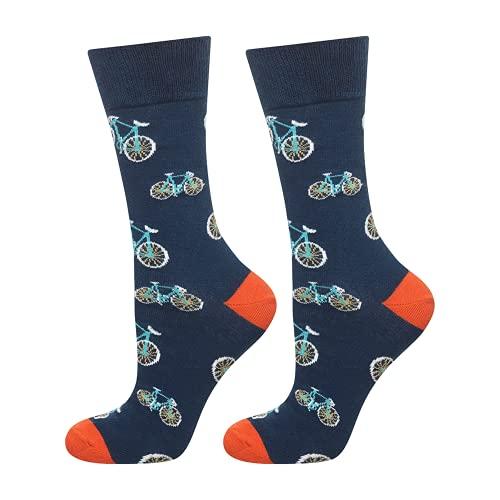 soxo Calcetines de Color para Hombre Bicicletas   Talla 40-45   Paquete de 1   Calcetines Algodón...*