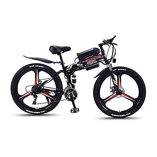 Hyuhome Bicicletas de montaña eléctrica para Adultos, Plegable de MTB Ebikes Hombres Mujeres...*