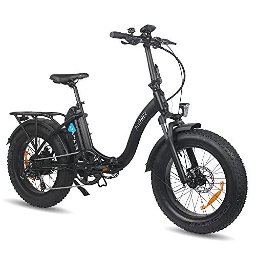 DERUIZ Amber Bicicleta Eléctrica Plegable 20