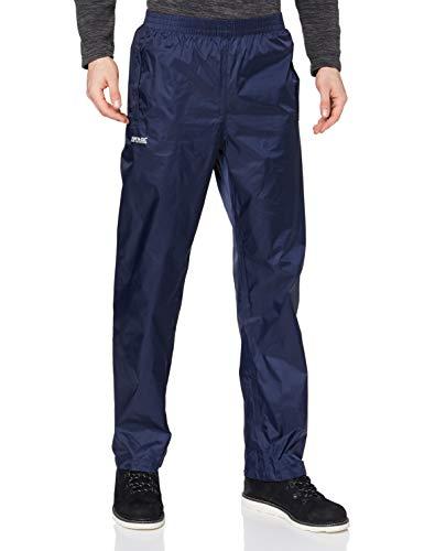 Regatta Stormbreak - Pantalón para hombre (impermeable), azul marino, tamaño 62-64 EU