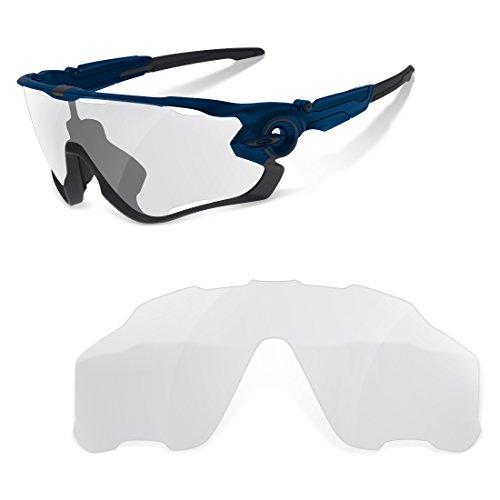 sunglasses restorer Lentes de Recambio Compatibles para Oakley Jawbreaker, Fotocromatica*