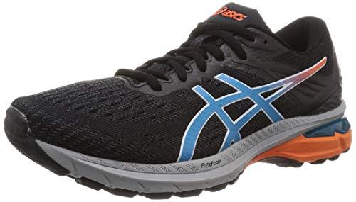 ASICS GT-2000 9 Trail, Zapatilla para Correr en Carretera Hombre, Black/Digital Aqua, 45 EU*