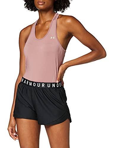 Under Armour Play Up Shorts 3.0 Corto, Mujer, Negro (Black/Black/White), XS*