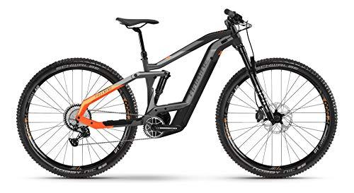 Haibike FullNine 10 Bosch - Bicicleta eléctrica 2021 (M/44 cm, titanio/negro/lava)