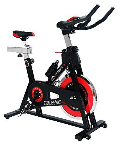 Fit-Force Bici Spinning Volante de Inercia de 24Kg*
