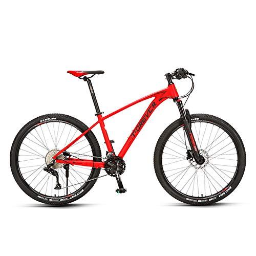 JKCKHA Bicicleta De Montaña para Hombres Y Mujeres, Suspensión Delantera, 33 Velocidades, Ruedas...*