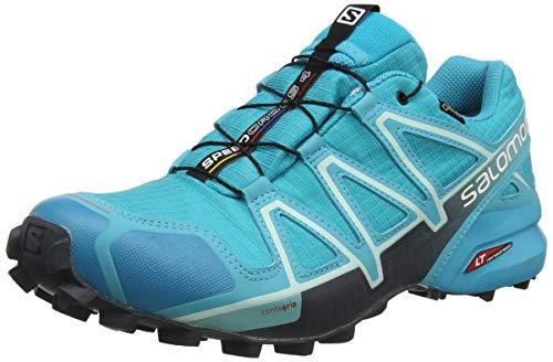 Salomon Speedcross 4 GTX Zapatillas Impermeables De Trail Running Mujer, Azul (Bluebird/Icy...*