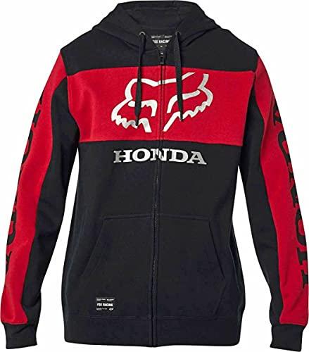 Fox Sudadera Honda Zip - Algodón Hombre Talla: Large*