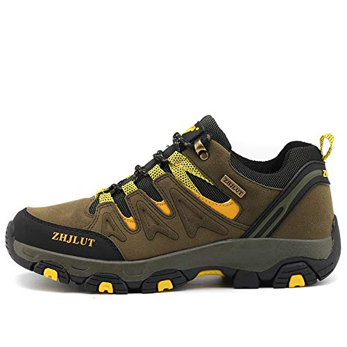 BOTEMAN Zapatillas de Senderismo para Mujer Zapatillas de Trekking para Hombre Botas de Montaña...*