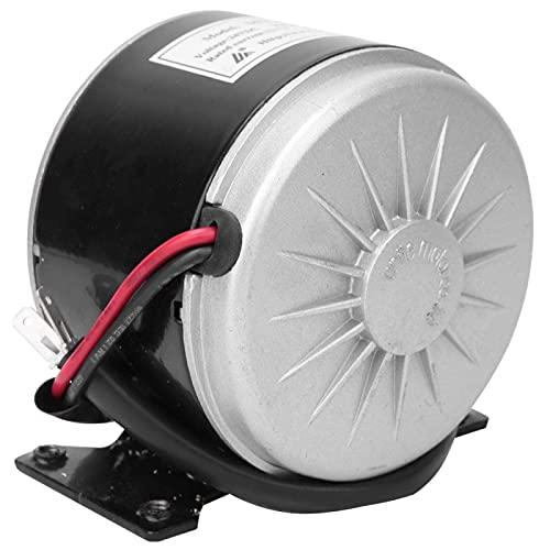 MY1016 24V 250W Motor de cepillo pequeño, Motor eléctrico de CC de alta velocidad con soporte,...*
