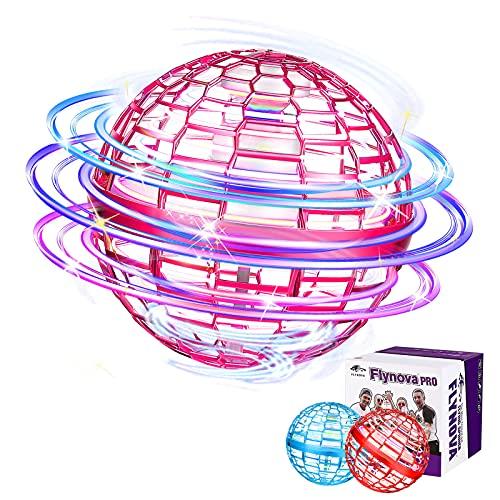Flynova pro, orbe de mosca giratorio de 360 ° con luces, orbe volador en 3 colores, adecuado...*