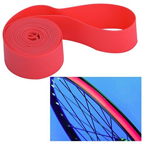 Borde de Bicicleta Cinta Tape Rim, 4PCS / Set Neumático del neumático del neumático Tubo Interno Protector del neumático Tiras del Borde Cinta del Borde del neumático de la llanta(20')