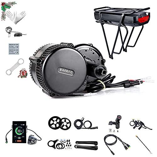 Bafang BBS01B 36V 350W Medio Motor de conversión de Bicicleta eléctrica de Accesorios Kit de componentes de Ebike sin batería