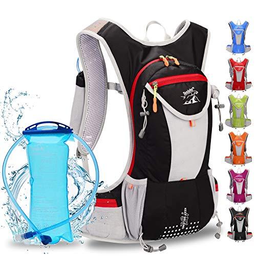 WLZP Mochila Bicicleta, Bolsa de Agua de Súper Ligero de 2L,Depósito de Agua a Prueba de Fugas de...*
