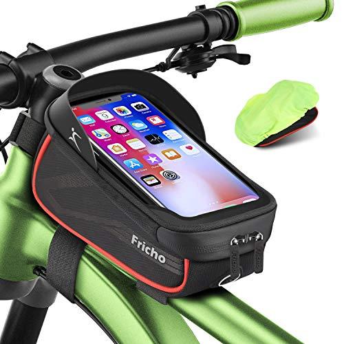 Regalo Hombre Bolsas de Bicicleta, Accesorios Bicicleta Impermeable del teléfono de la Bici de la...*