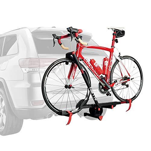 Soporte Allen Sports Premier para una Bicicleta con Parrilla de Bloqueo, Modelo AR100, Negro