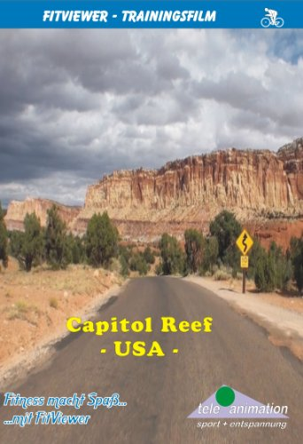 FitViewer Capitol Reef Indoor Video Cycling USA*