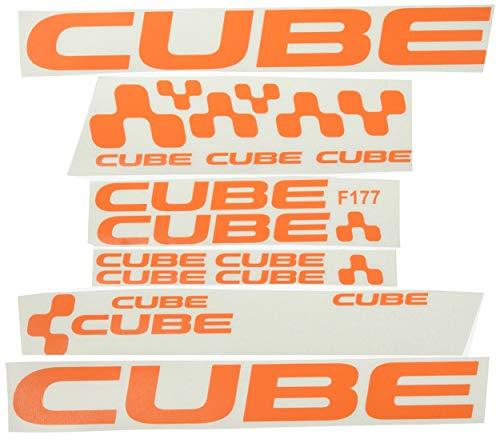 Ecoshirt T5-7AVQ-QSOU Pegatinas Cube F177 Vinilo Adesivi Decal Aufkleber Клей MTB Stickers Bike,...*