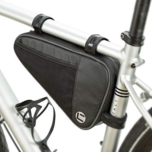 UBORSE Bolsa de Cuadro Triangular para Bicicleta Bolsa de Tubo Frontal Impermeable Bolsa de...*