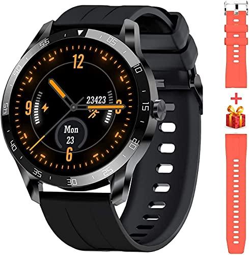 Blackview X1 Smartwatch, Reloj Inteligente Hombre - Esfera de Reloj de DIY, Reloj Deportivo Hombre Pulsometro, Pulsera Actividad Inteligente, Smartwatch Hombre para Android e iOS (Versión Mejorada)
