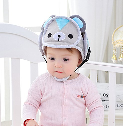 Hillento Casco de Seguridad del bebé, los niños Infantiles del niño Anti-colisión Frontal Tapa...*