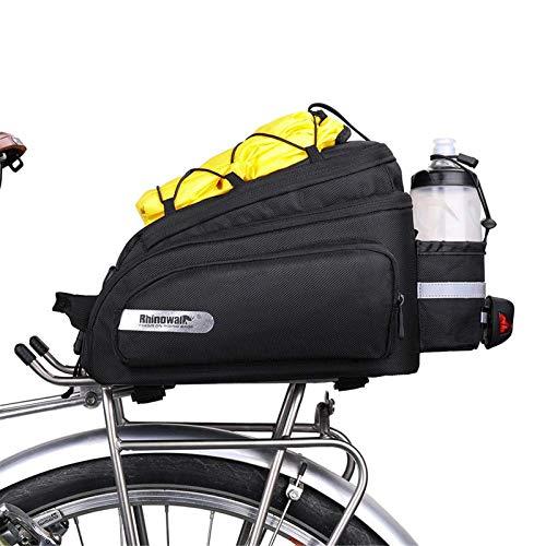 SHINYEVER Bolso para Asiento Trasero de la Bicicleta Alforja para Ciclismo, Carretera, MTB,...*