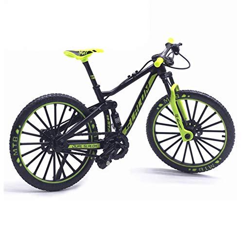Modelo de bicicleta - Escala 1:10, oficina curvada, escritorio, carreras, juguetes, mini bicicleta fundida a presión, juguete de metal en miniatura, aleación simulada, modelo de bicicleta de carretera