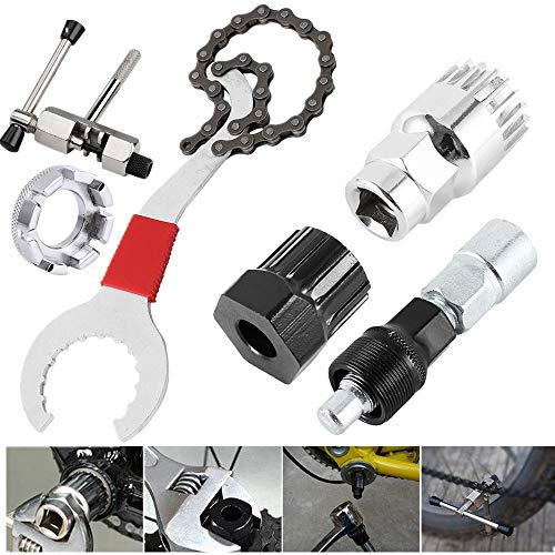 Yahee 6en 1Extractor de biela de bicicleta, eje de pedales, rodamiento interior, extractor de...*