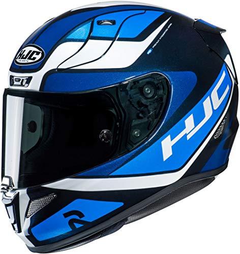 HJC NC Casco per Moto, Hombre, Negro/Azul, L*