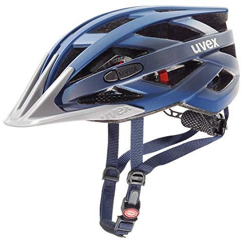 Uvex I-Vo CC Casco, Unisex Adulto, Darkblue Metallic, 52-57 cm