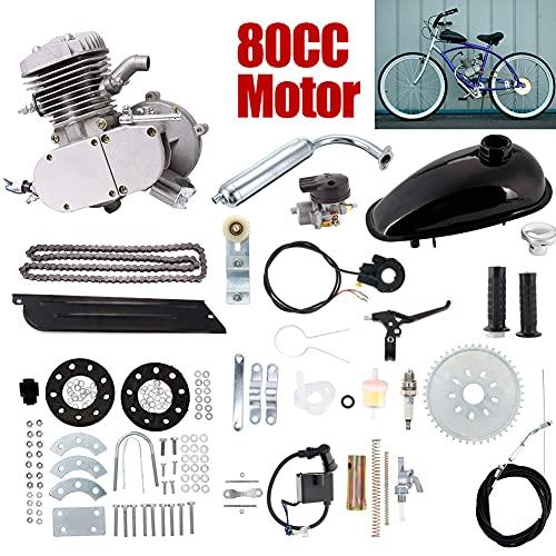 Kit de motor de 2 tiempos de gasolina para bicicleta motorizada de 80 cc con cilindro único...*