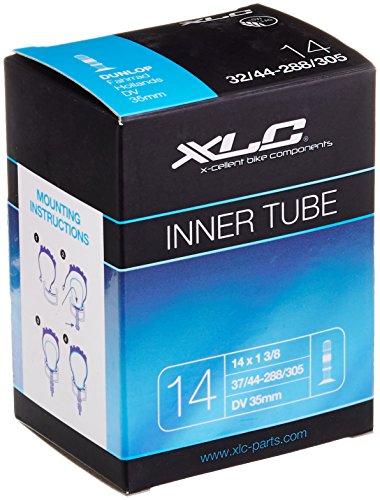 XLC 2508140000 Cámara VT-D14, Unisex-Adult, 14 x 1 3/8 37/44-288/305