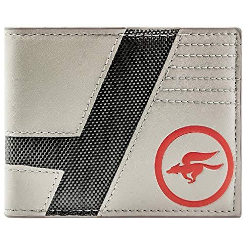 Cartera de Star Fox Zero Logotipo de la Estrella del Equipo del ala Gris